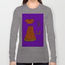 Her sari Long Sleeve T-shirt