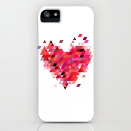 Heart1 Red iPhone Case
