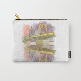 Pittsburgh Sister Bridge at Sunset Carry-All Pouch
