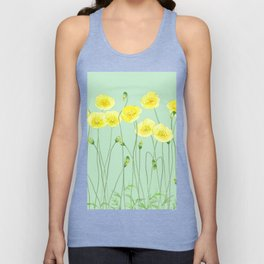 Yellow Wildflowers II Unisex Tank Top