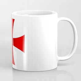Dual color knights templar red cross Coffee Mug