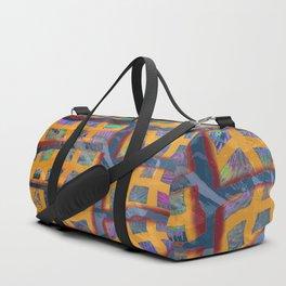 Yellow Line Duffle Bag