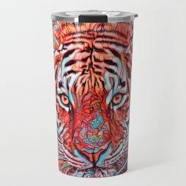ColorMix Tiger 1 Travel Mug