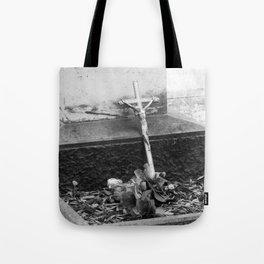 old cross Tote Bag