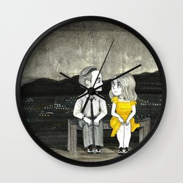 La La Land - Sebastian and Mia Wall Clock