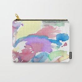 Multicolor watercolor Carry-All Pouch