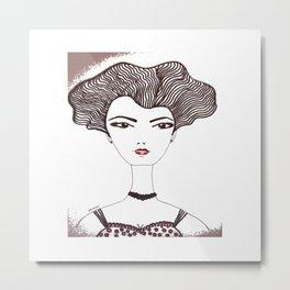 septiembre Anna Metal Print