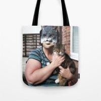 tina Tote Bags featuring Tina/Tabitha by Kalilibird