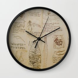 Parasites Wall Clock