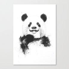 Funny panda Canvas Print