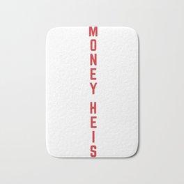 Money Heist Funny Acronim Design Bath Mat
