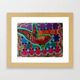 Cindy's Butterfly Framed Art Print