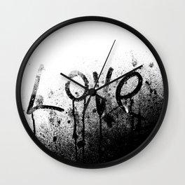 Big Love Wall Clock