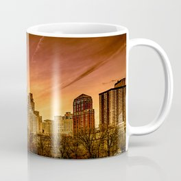 Sunset over Midtown Manhattan Coffee Mug