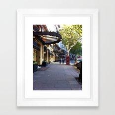 Aldwych Framed Art Print