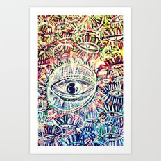 Eyes - for iphone Art Print