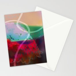abstract 006. Stationery Cards