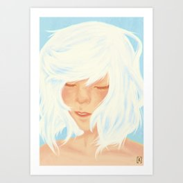 Shiro Art Print