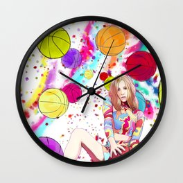 Less I Know The Better Wall Clock