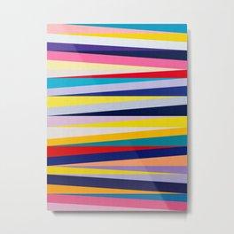 Colored lines III Metal Print