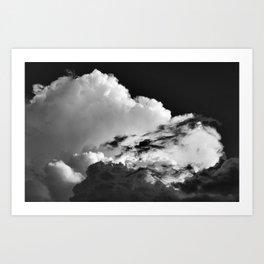 'Swirling Clouds' Art Print