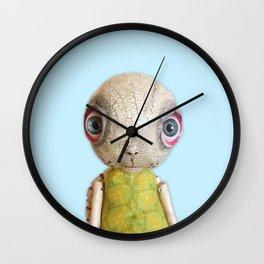 Sheldon The Turtle - Baby Blue Wall Clock
