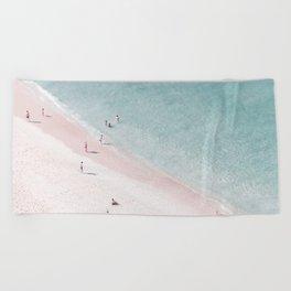 beach family love Beach Towel