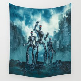 The Patrol Wall Tapestry