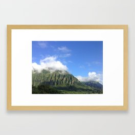Good Morning Ko'olau Mountains Framed Art Print