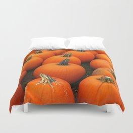 Plenty of Pumpkins! Duvet Cover
