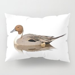 Reflections of a Northern Pintail Duck Pillow Sham