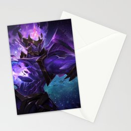 Dark Star Jarvan IV League Of legends Stationery Cards