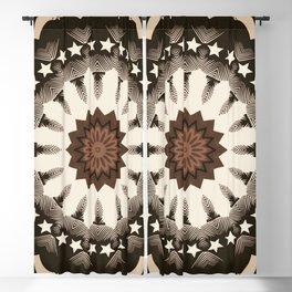 Ouija Wheel of Stars - Beyond the Veil Blackout Curtain