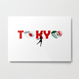 Tokyo, Handball team and Mexico Metal Print
