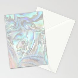 abalone whisper Stationery Cards