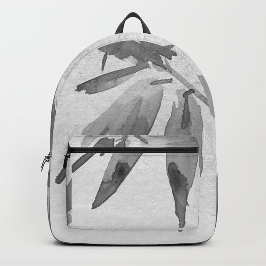 Bamboo Tree Watercolor Backpack