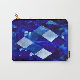 Blue Sapphire September Birthstone Gem Carry-All Pouch