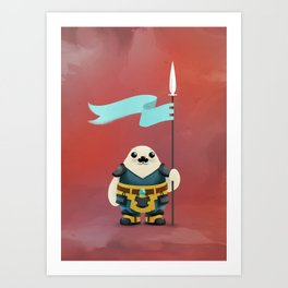 Seal the Deal Art Print
