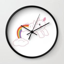 Unicorn dreaming! by Thom Van Dyke Wall Clock
