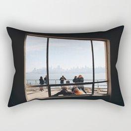 View From Alcatraz Rectangular Pillow
