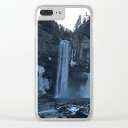 Ithica Gorges Taughannock Falls Clear iPhone Case