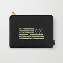 Distressed Tactical U.S. Flag Carry-All Pouch