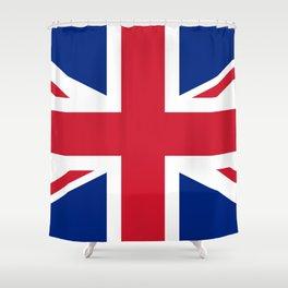 UK Flag Union Jack Shower Curtain