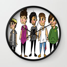 Mini Direction Wall Clock