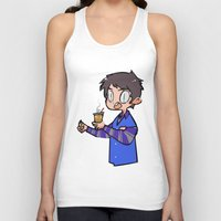 winchester Tank Tops featuring Steve Winchester by oh, wolves