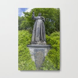 Pio of Pietrelcina Metal Print