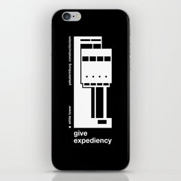 Give expediency iPhone Skin