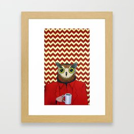 The Owls Are Not What They Seem (unframed) Framed Art Print