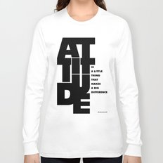 Lab No. 4 - Life Inspirational Quotes Of Attitude Inspirational Quotes Poster Long Sleeve T-shirt