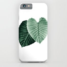 Love Leaves Evergreen - Him & Her #2 #decor #art #society6 iPhone Case